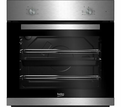 BEKO BXIC21000X 71 Litre Built In Conventional Electric Oven - Stainless Steel