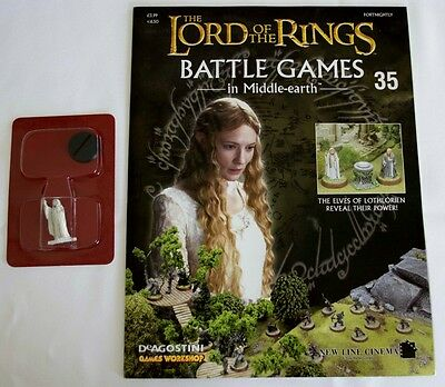 Lord Of The Rings:Battle Games In Middle-Earth–Issue #35 Magazine & miniatures