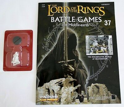 Lord Of The Rings:Battle Games In Middle-Earth–Issue #37 Magazine & miniatures