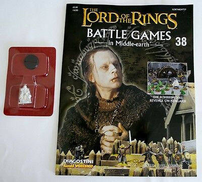 Lord Of The Rings:Battle Games In Middle-Earth–Issue #38 Magazine & miniatures