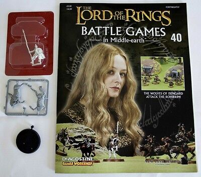 Lord Of The Rings:Battle Games In Middle-Earth–Issue #40 Magazine & miniatures