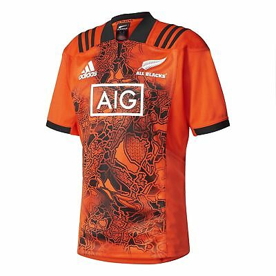 NEW All Blacks 2017 Men's Training Rugby Jersey by adidas