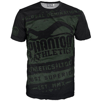 "Phantom Athletics Shirt ""EVO - Walkout"" - Black/Green"