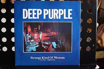 "Deep Purple ‎– Strange Kind Of Womanl Vinyl, 12"", Maxi-Single"