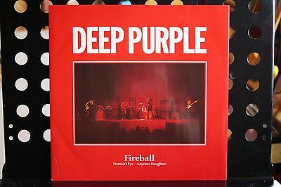 "Deep Purple ‎– Fireball Vinyl, 12"", Maxi-Single"