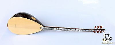 Turkish Quality Long Neck Olive Baglama Saz For Sale ASL-390