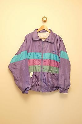 Vintage womens 80's/90's shell suit jacket