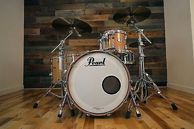 Pearl Reference 4 Piece Drum Kit, Copper Fire Sparkle (Pre-Loved)