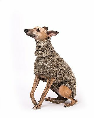 Knitted Sweater/Coat/Jumper for Greyhounds, Whippets & Italian greyhounds