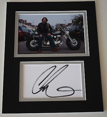 Charley Boorman Signed Autograph 10x8 photo mount display TV Motorbike AFTAL COA