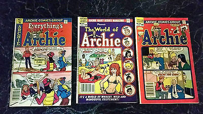 Everything's Archie #91 Apr '81 World of Archie #521 Sep '82 Archie #318 Jul '82