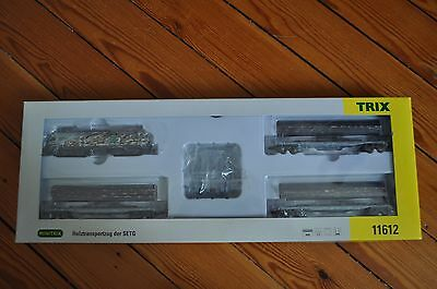 TRIX MINITRIX Coffret 11612 N Scale Gauge Train Transport Bois Holztransportzug
