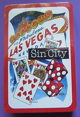 Playing cards Sealed Deck  Welcome To Fabulous Las Vegas Nevada Sin City