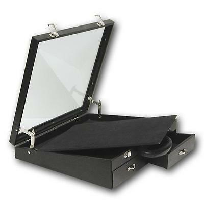 Angle Glass Top Display Case