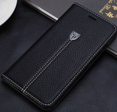 New Xundo Luxury Wallet Flip Leather Case Cover for Samsung Galaxy S8 Plus Black