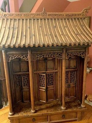 Antique Chinese Ancestral Shrine, Altar Cabinet