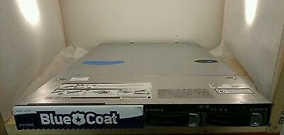 BlueCoat Packeteer PacketShaper PS12000-L500M No Hard Drives