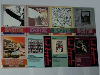 Used! LED ZEPPELIN JAPAN Guitar Bass Drum TAB Band Score 8-set Jimmy Page
