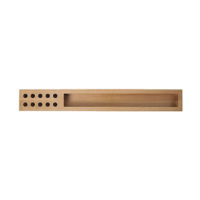 h + h furniture LOG Stiftablage eiche 75,2 x 10 cm, h 6 cm
