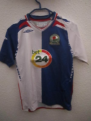 Trikot 48 Blackburn Rovers in Größe 146 Kinder Trikot