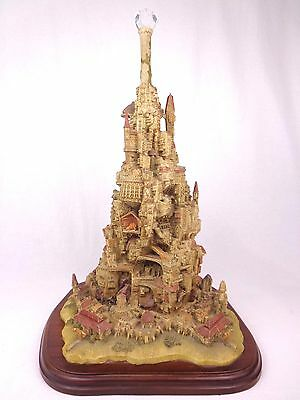 "Enchantica Throne Citadel 21"" Statue 2nd Prestige Piece & COA Ltd Ed 1992 Rare"