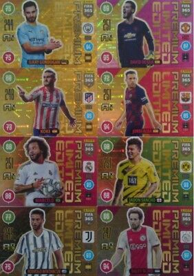 Panini Adrenalyn XL FIFA 365 2017 SET 33 CARS LIMITED EDITION Messi Ronaldo ....