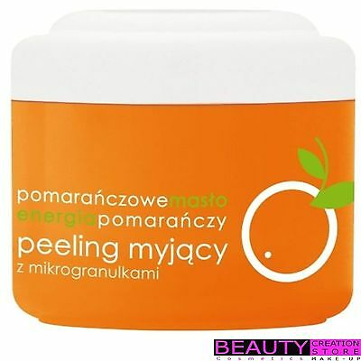 ZIAJA Orange Body Butter Peeling Body Scrub 200ml ZI069