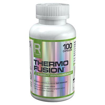 Reflex Nutrition Thermo Fusion 100 Capsules Best Before 23/07/2017