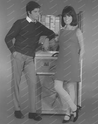 "AMI Continental Couple Vintage 8"" -10""  B&W Photo Reprint"