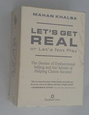 Lets Get Real or Lets Not Play (Selling Sales) by Mahan Khalsa 6CD's Sealed