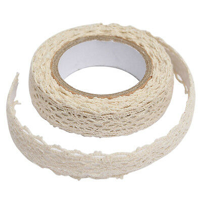 Decoration band lace ribbon fabric tape Christmas wedding border gift N3