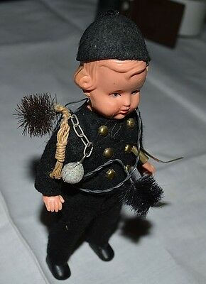 Vintage Chimney Sweep Doll w/accessories