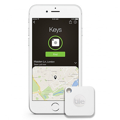 Cell Phone GPS Tracker Bluetooth Key Chain Tile Device Locator App Finder Pulse