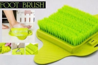 Shower Feet Foot Cleaner Scrubber Massage Washer Bath Exfoliating Brush Bathroom
