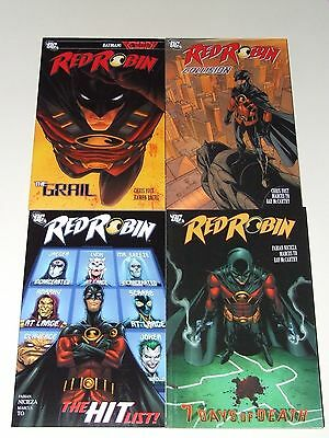 Red Robin (2012 DC) complete Lot of 4 TPB's