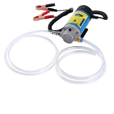 12V 100W Oil Diesel Transfer Pump Electric Fluid Extractor Car Motorcycles