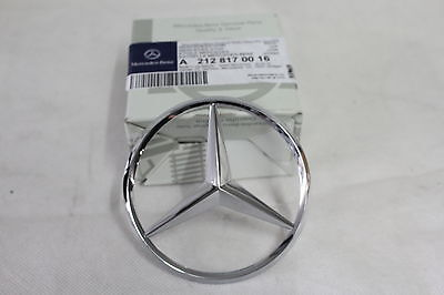 Genuine Mercedes-Benz W212 E-Class Rear Boot Trunk Lid Badge Star A2128170016
