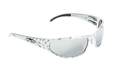 NEW ICICLES Baggers Diamond Silver Lens Mirror Sunglasses with Chrome Frame