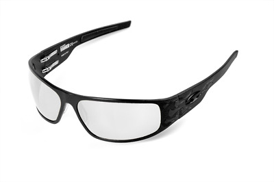 NEW ICICLES Big Daddy Bagger Transition Lens Sunglasses with Matte Black Flames