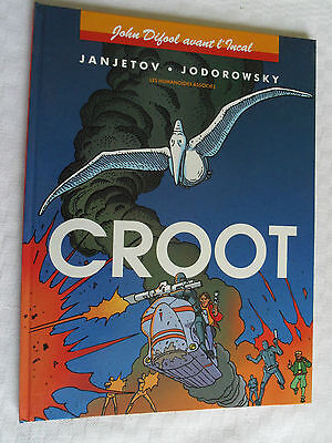 ALBUM BD  JOHN DIFOOL AVANT L' INCAL   CROOT  1ere EDITION