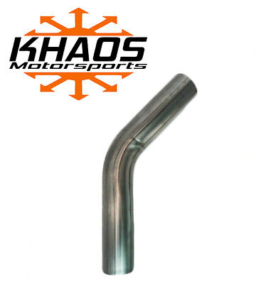 """3"""" 45 304 Stainless Steel Mandrel Bend Pipe Exhaust/Catback USA .065 (16ga)"""