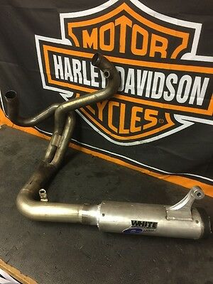 Buell Exhaust Header Stainless 1999-2002 X1 S3 White Brothers E-Series Exhaust