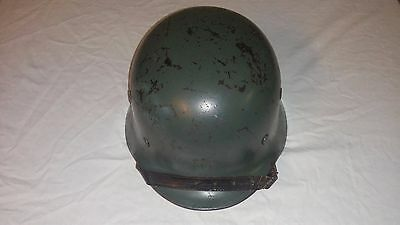 WW2 WWII German M40 Helmet Green Q64