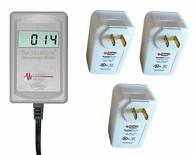 Graham Stetzer Meter & 3 Filters Pack: Dirty Electricity Line Noise RF Reducers