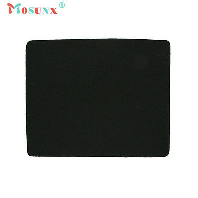 BLACK Fabric Mouse Mat - Foam Backed - High Quality 5mm (INT)