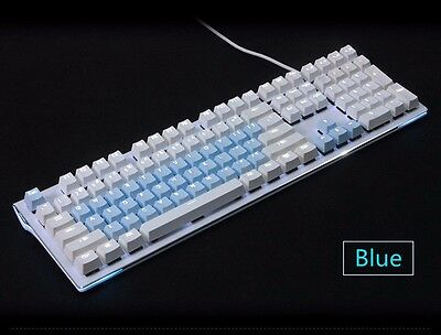 Blue Cherry MX Keycaps Backlit 37 Key Mechanical Gaming Keyboard (INT)