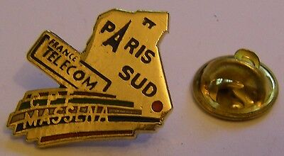 Pins France Telecom Paris Sud Massena CPE Tour Eiffel
