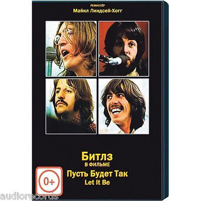 The Beatles Let It Be Movie DVD Rare & New
