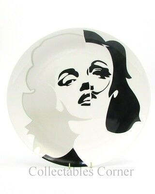 Marilyn Marlene Dali Royal Doulton Pure Evil Street Art Collection Plate Boxed