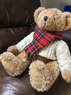 Harrods Teddy Bear 2002 13""